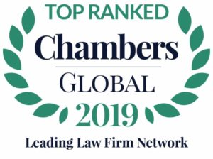 TOP RANKED Chambers Global 2019